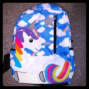 EmojiNation Unicorn in the Clouds Backpack